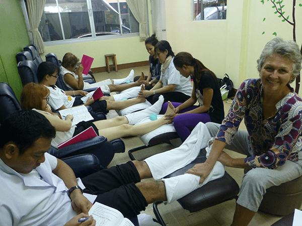 Kristl Dhaene Bangkok Holistic Health Thai Massage